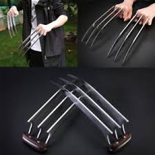 metal claws us free ship x men wolverine metal claws costume prop xmen