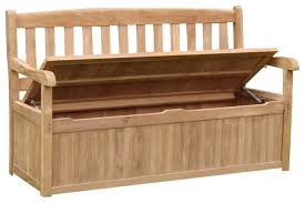Patio Furniture Storage Bench Teak Wood Storage Bench U2013 Home Improvement 2017 Teak Storage