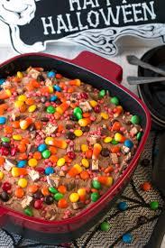 leftover halloween candy cake with kitchenaid streamline ceramic