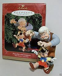 hallmark keepsake ornament pinocchio and geppetto