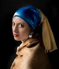 painting girl with a pearl earring project remake of a classic painting tjalling photography