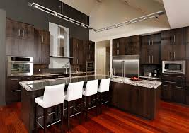 Kitchen Track Lighting Kitchen Track Lighting Contemporary With Counter Stools Vented