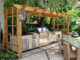 Outdoor Kitchen Ideas On A Budget Outside Kitchen With Fireplace U Shaped Outdoor Kitchen Plans