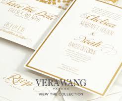 vera wang wedding invitations vera wang chic wedding invitations and save the date cards by