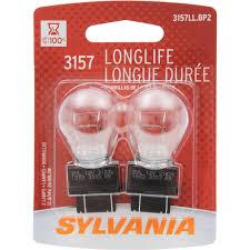 ford f350 third brake light bulb amazon com sylvania 3157 long life miniature bulb contains 2