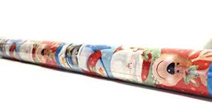 large rolls of christmas wrapping paper large roll trim a home 40 in 200 sq ft whimsy