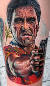 40 scarface tattoo design ideas for men al pacino ink