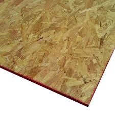 shop actual 0 625 in x 4 ft x 4 ft premium particle board at