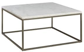alana acacia marble top square coffee table from casana coleman