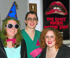 Rocky Horror Picture Show Halloween Costumes Frightful Fun Flicks U2014 Halloween Related Classic Films Draw