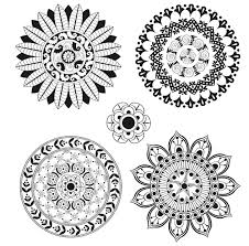 free colouring pages 5 stunning mandalas colour complete