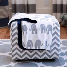 decorating with elephant nursery bedding set