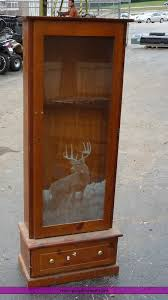 Glass Gun Cabinet Item 8867 Sold January 13 Kansas City Area Multiple Lo