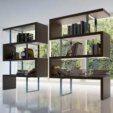 large room dividers furniture inspiring bookshelf room divider with large glass