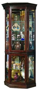 glass corner curio cabinet jasper cabinet