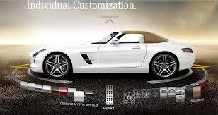 mercedes sls amg roadster for sale 2012 mercedes sls amg roadster configurator goes live