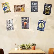 online shop shabby chic metal signs drinking beer tea art poster online shop shabby chic metal signs drinking beer tea art poster rustic restaurant coffee cafe wall stickers decor aliexpress mobile