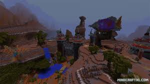 Mimecraft Maps Crafting Azeroth Map Download For Minecraft 1 8 1 7