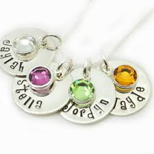 Mom Necklaces With Children S Names Artfire Markets