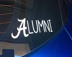 alabama alumni sticker alabama alumni etsy