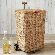 Laundry Hampers Online by Rattan Laundry Basket On Wheels Walmart U2014 Sierra Laundry Fresh
