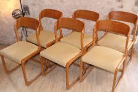 chaise traineau baumann 6 chaises traineau baumann ebay