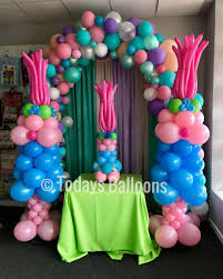 Balloon Decoration Ideas For Birthday Party At Home Trolls Ideas Para Fiestas Pinterest Troll Party Birthdays