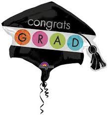 congrats grad cap balloon ronjo magic costumes and shop