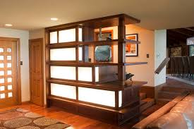 entry shelf illuminated entry shelf contemporary entry dallas by firm817