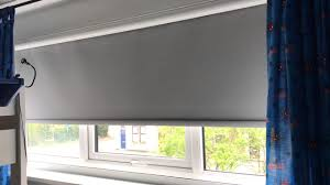 blackout roller blind in a cassette for total darkness solar