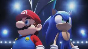 image mario sonic at the olympic winter opening