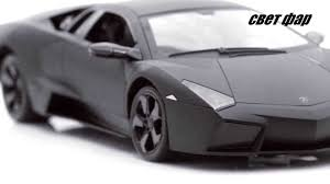 lamborghini car black mz lamborghini reventon 1 10 black matt r c toys car youtube