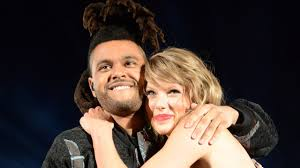 the weeknd s hair taylor swift loves petting the weeknd s hair youtube