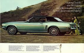 Black Mustang 1969 Cars