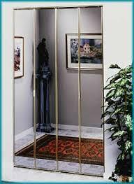 Mirror Bifold Closet Door Closet Doors Painted Glass