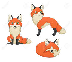 fox cartoon stock photos royalty free fox cartoon images and pictures