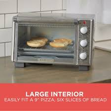 Black And Decker Toaster Oven To1675b 6 Slice Toaster Oven Black Decker