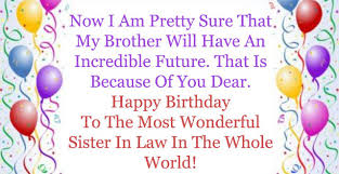 top birthday wishes u0026 greeting for sister in law 2happybirthday