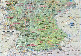 Stuttgart Germany Map by Southern Germany Map U2013 Itfa