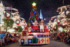 holiday season at walt disney world resort travel to the magic