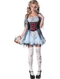 halloween zombie costume premium bavarian zombie costume for women vegaoo