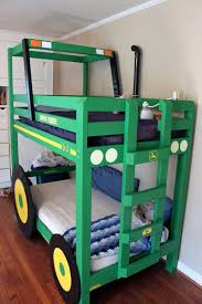 Race Car Bunk Beds Tractor Bunk Beds Apartment Therapy