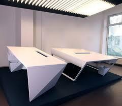 Futuristic Office Desk Office Desk Kinzo Air Table Futuristic