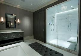 Bathroom Shower Stalls With Seat Shower Stall With Seat And Marble Tiles Bathroom Shower Stalls