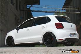 polo volkswagen black black bbs ch wheels for volkswagen vw polo tunershop