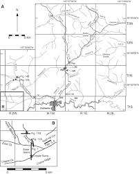 Tanana Alaska Map by Late Pliocene Dawson Cut Forest Bed And New Tephrochronological