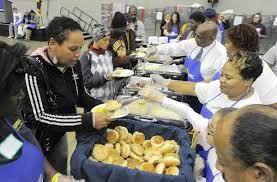 goodwill thanksgiving dinner feeds thousands baltimore sun