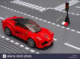 lego speed champions ferrari tambov russian federation march 05 2015 laferrari by lego