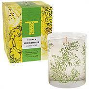 thymes candles thymes