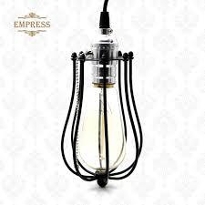 lampenkap vintage industrial lamp cover metal bulb birdcage lights